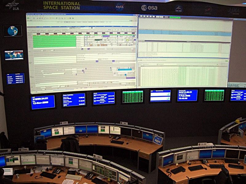 Besuch Kontrollzentrum DLR