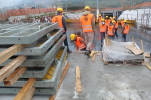 Baustelle Nordwest-Umfahrung Meran