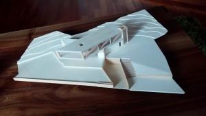 Modell Einfamilienhaus 4.Klasse