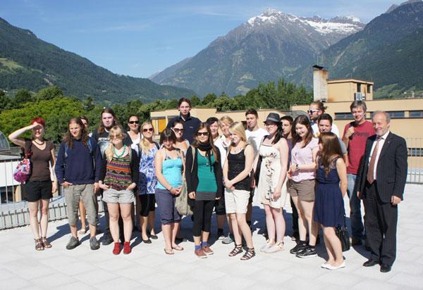Besuch aus Oberbayern an der TFO
