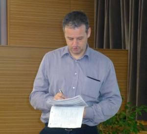 Auch Lehrer gaben den Vortragenden ein produktives Feedback