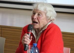 Ina Schenk erzählte von schwierigen Zeiten zwischen Bangen und Hoffen