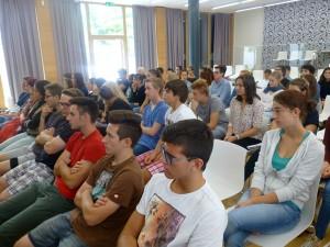 Unser Schüler_innenrat beim ersten Treffen