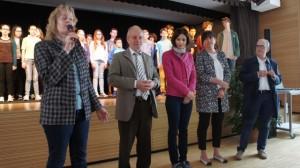 Europatag im Schulzentrum und seine Initiatoren