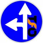 verkehrszeichen_gerade_links Kopie