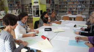Bei einem der Workshops (Thema Inklusion)
