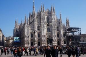 Der gotische Dom von Mailand