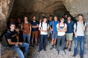 50 TFO Schüler mit Begleiter im Trentiner Val di Gresta