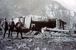 Ein Foto aus schwierigen Zeiten: An der Front im 1 Weltkrieg