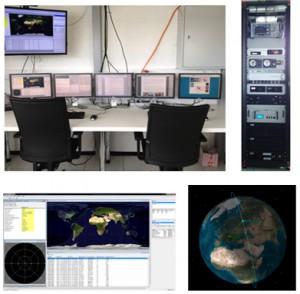 Satelliten Kontrollraum in der TU Graz