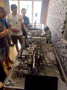 Programmierung einer Industriesteuerung (Elektronik)