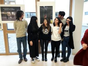 Einige der jungen Fotografinnen und Fotografen