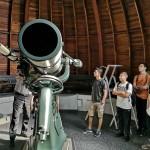 Auf der Sternwarte des Deutschen Museums