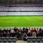 Gruppenfoto in der Allianz Arena