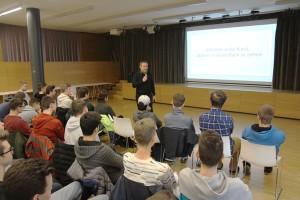 Sepp Prantl bei der Einführung in den Referate-Vormittag