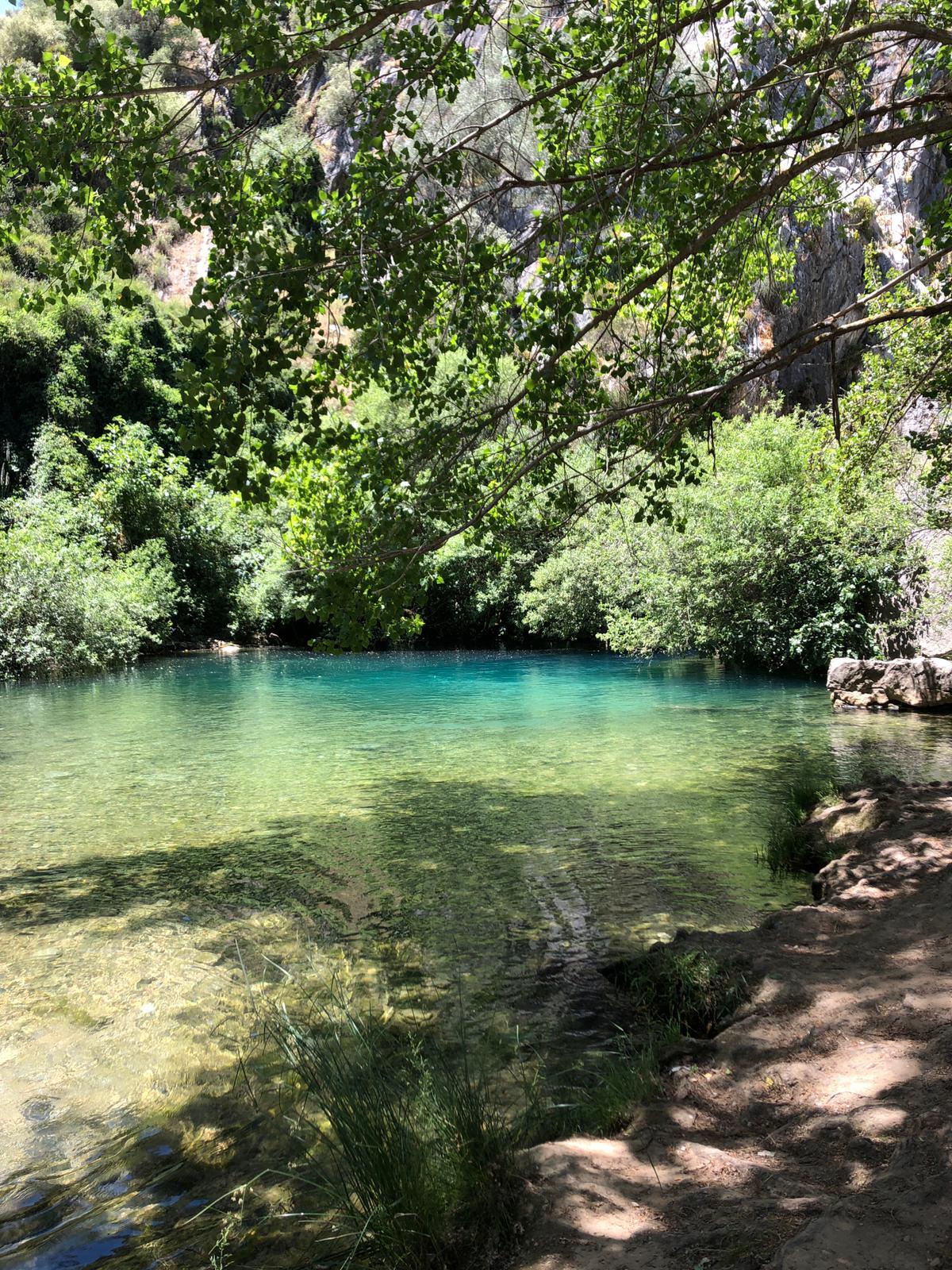 Badesee an der Cueva del Gato
